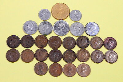 Canadian Coin Lot of 29 Coins
