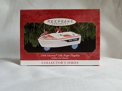Hallmark Keepsake Ornament ,1968 Murray Jolly Roger Flagship #6 in Series