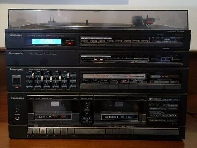 Vintage Panasonic SG D36 3 In 1 Stereo Very Good Working Condition Dual Tape