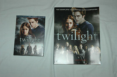 Twilight Set – DVD and Complete Illustrated Movie Companion