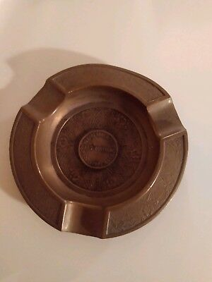 Antique Advertising Howard Bros. Mfg. Co.(Card Clothing Worcester Mass.} Ashtray