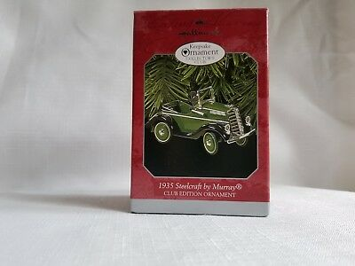 Hallmark Keepsake Ornament - 1935 Steelcraft by Murray, Dated 1998, Club Edition