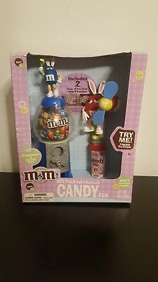 M&M Easter Set! Candy Dispenser and Candy Fan! Brand New in Box!