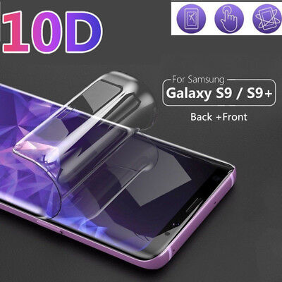 For Samsung S10 Plus Lite S9 S8 Hydrogel Film 10D Full Screen Soft Protect Cover