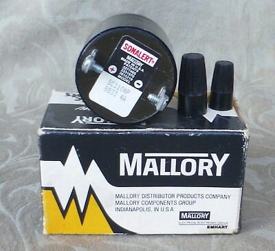 Vintage Mallory Sonalert Electronic Signal Sc110Np New In Box Usa