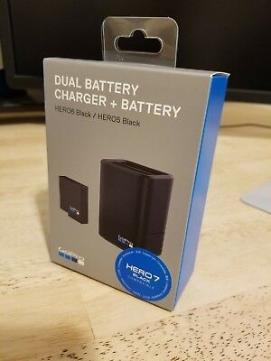 GoPro AADBD-001 Dual Battery Charger + ONE battery NEW for HERO5/6/7