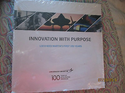 INNOVATION WITH PURPOSE: Lockheed Martin's First 100 years Book--new sealedmer3