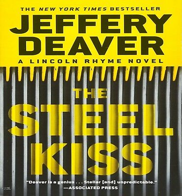 The Steel Kiss (Lincoln Rhyme #12) by Jeffery Deaver (2016, Unabridged) 13 CDs