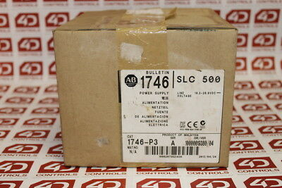 Allen Bradley 1746-P3 SLC500 Power Supply - New Surplus Open - Series A
