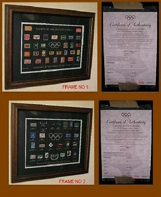 *SYDNEY 2000 OLYMPIC GAMES* Stamps Of Ancient Sport & 104 years Of Summer Games