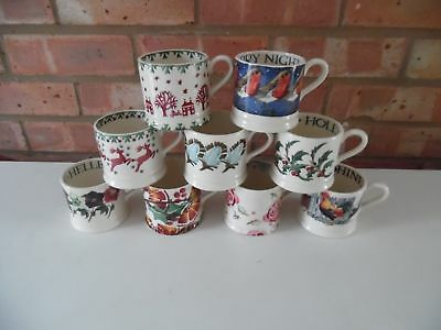 Emma Bridgewater Large Collection of 1/4 Pint Baby Mugs 9 Different Designs New