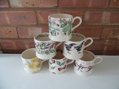 Emma Bridgewater Large Collection of 1/4 Pint Baby Mugs 6 Different Designs New