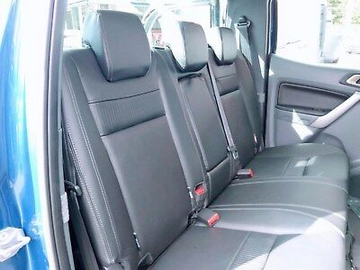 Genuine Ford Ranger 2015 - Present Complete Set of Leather Seat Covers