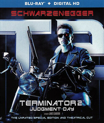 T2 - Terminator 2: Judgment Day (Special Edition Version, Unrated) BLU-RAY NEW