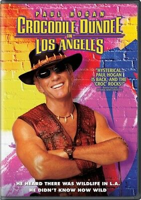 Crocodile Dundee 3 in Los Angeles DVD NEW