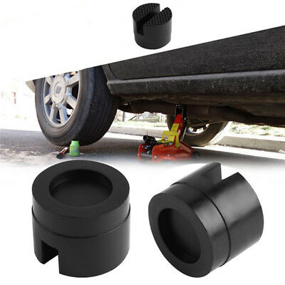 Universal Black Rubber Jacking Pad Block Protector Tool For Car Tire Replacement