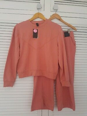 Bnwt Cotton On Body Dusty Clay Jumper S And Crop Track Pants M Sold Out Rrp $65
