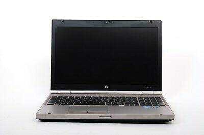 HP EliteBook 8560P Notebook 15 Zoll 500GB HDD i5 2,6 GHz 4GB RAM Win 10 - 24523