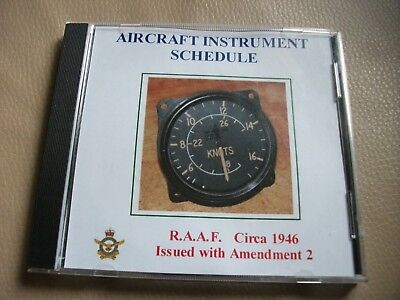R.a.a.f Instrument Schedule (Royal Australian Air Force) 1946