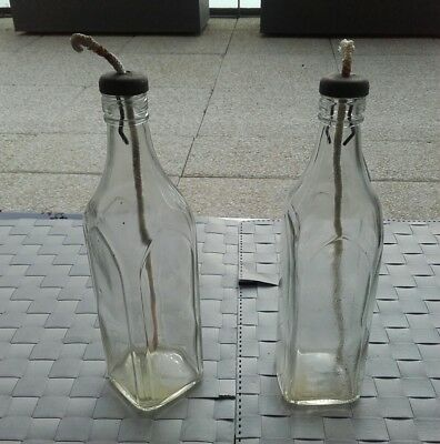 2 Lampes  Lanternes  Cheminot Train   Sncf - Bottle Polano - Lampe A Petrole