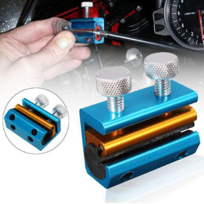 Motorcycle Cable Oiler Lube Tool For Brake Wire Dual Clutch Lubricator Blue EQK