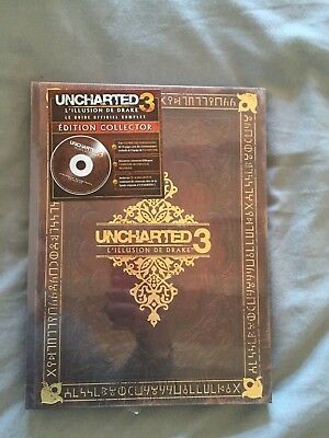 Guide Uncharted 3 : L'Illusion de Drake - Collector - NEUF