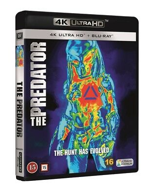 The Predator (2018)4K UHD +  Blu Ray