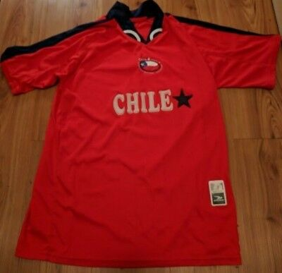 4c8669204 Drako Chile Football National Team Jersey Soccer Large FIFA World Cup Copa