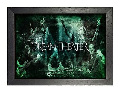 Dream Theater 1 Foto Banda de Rock Poster Heavy Metal Legends Picture Music