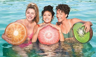 """Bestway Inflatable Fruit Beach Ball Summer Holidays Swimming Pool 18"""" (46cm)"""