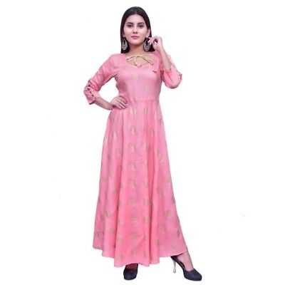 Anarkali Indian Top Kurti kurta  Beautiful Tunic Kameez Rayon Designer Plazo