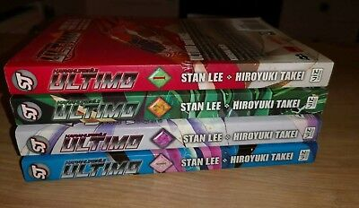 Manga Viz Media Ultimo Books 1-4 Stan Lee