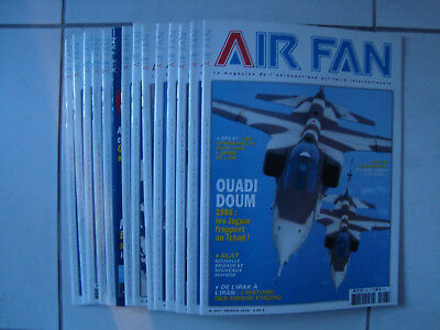 lot Air Fan n°434 à 447