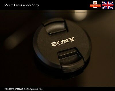 55mm Front Lens Cap for Sony Lenses