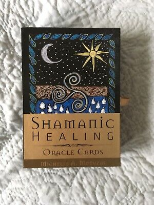 Shamanic Healing oracle cards AS NEW