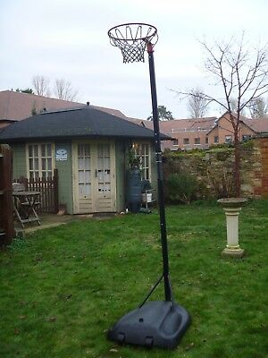 Netball / basketball Hoop Post Height 1.4M - 2.75M Free Standing with base