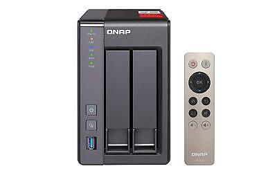 QNAP TS-251+-2G, 2bay, 2GB RAM, Quad-core NAS (Network-attached Storage)