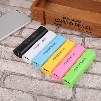 Micro USB Power Bank DIY Pack 18650 Battery Charger Box Case For Cell Phone FDG