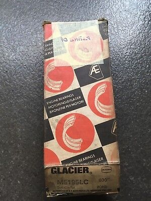 Glacier Main Bearings M5195LC  0.30 Ford NOS