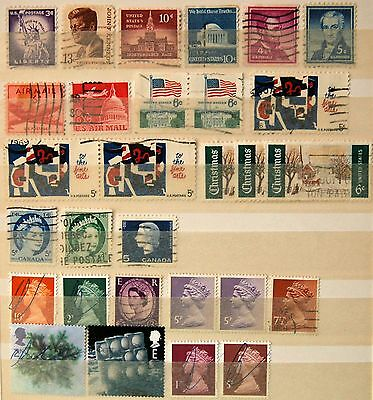 Stamps USA Canada