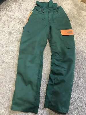 SIP Protection Used Chainsaw Trousers Class 1 Type A