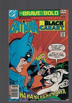 DC Comics the Brave and The Bold # 141 June 1978 Batman & Black Canary