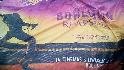 Bohemian Rhapsody Movie Premiere Carnaby large banner Sign Rare (Queen)