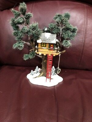 Department 56 - Original Snow Village - Tree Top House - Retired