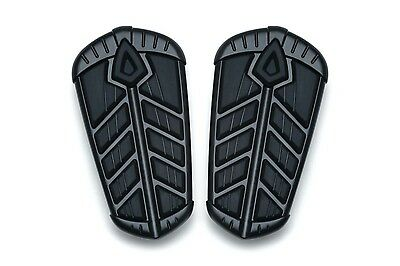 Kuryakyn 5659 Black Spear Rear Passenger Floorboard Inserts Indian '15-'19