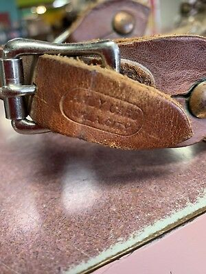 Vintage Andy Card Brass & Silver Spurs