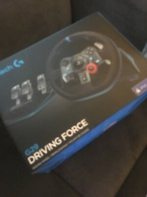 LOGITECHDriving Force G29 Steering Wheel & Pedals  PS3 PS4 Used