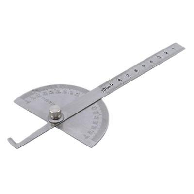 2019 Round Head 180-degree Protractor Angle Finder Rotary Ruler Measure Tool Y
