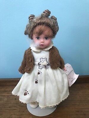 """Madame Alexander 32160 6"""" Beary Best Friends 100th Anniversary Doll"""