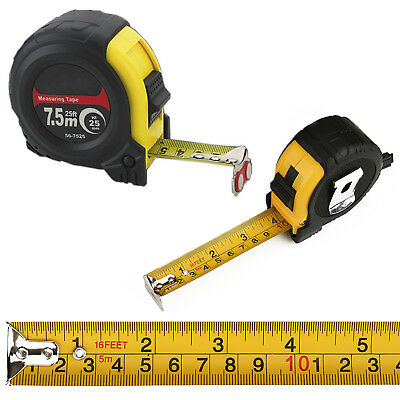 5m//16ft or 7.5m//25ft CK Tools T3448 XT Heavy Duty Professional Tape Measure